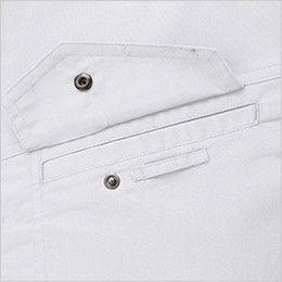 ジーベック 1691 [春夏用]帯電防止トロピカル半袖ブルゾン(男性用)  ネムホルダーループ付き