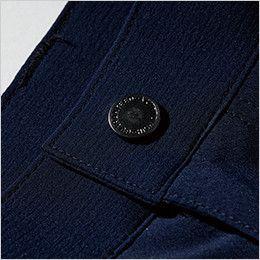 ジーベック 1803 ストレッチメンズパンツ(男性用) 薄型ドットボタン