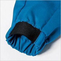 ジーベック 1814 [春夏用]カラーストレッチ長袖ブルゾン(男女兼用) ジャガードゴム仕様で袖まくりもらくらく