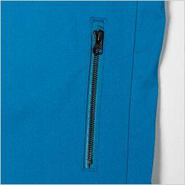 ジーベック 1817 [春夏用]カラーストレッチベスト(男女兼用) ファスナーポケット