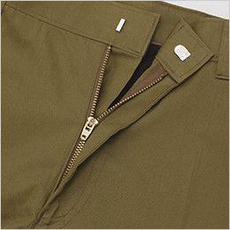 ジーベック 2016 [春夏用]綿100%サマーツイル ノータックラットズボン(男性用) 3YGファスナー