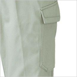 ジーベック 2053 綿100%ツータック ラットズボン ラットポケット