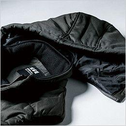 ジーベック 213 現場服 綿100% 防寒ベスト 取り外し可能