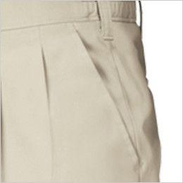 ジーベック 3190 [春夏用]リサイクル ツータック スラックス ポケット