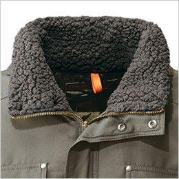 [在庫限り/返品交換不可]ジーベック 331 デザイナーズ トップサーモ中綿防寒コート 衿ボア