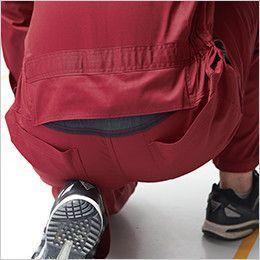 ジーベック 34011 T/Cツイル  楽脱ファスナーつなぎ 続服(男女兼用) 腰パワーネット