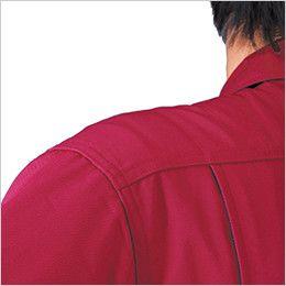 ジーベック 34880 ツナギ服(男女兼用) 肩布補強