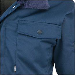 ジーベック 482 防寒ジャンパー(フードイン) [裏ボア仕様] ポケット