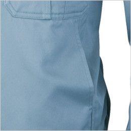 ジーベック 5400 綿100%比翼長袖ジャンパー ポケット
