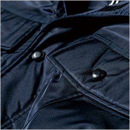 ジーベック 572 防水防寒ブルゾン ポケット水切り仕様