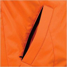 ジーベック 581 防水防寒コート 中綿 ファスナーポケット