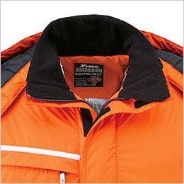 ジーベック 582 防水防寒ブルゾン 中綿 フリース付き