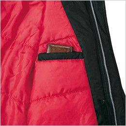 ジーベック 602 防水防寒ブルゾン 内ポケット