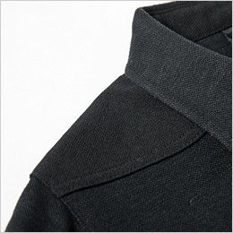 ジーベック 6050 [春夏用]現場服 半袖ポロシャツ ハード鹿の子を使用した二重仕様の肩
