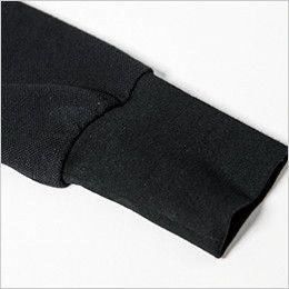 ジーベック 6055 [春夏用]現場服 長袖ポロシャツ ロングリブ仕様