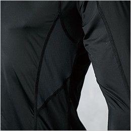 ジーベック 6610 [春夏用]現場服 長袖コンプレッション(男性用) 空調服に最適! メッシュ素材