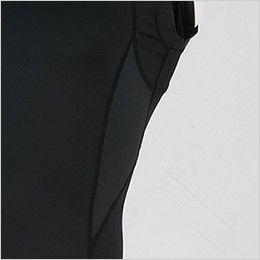 ジーベック 6612 [春夏用]現場服 ノースリーブコンプレッション(男性用) 空調服に最適! メッシュ素材