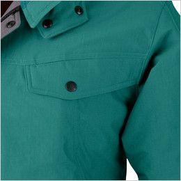 ジーベック 755 制電撥水防寒ブルゾン(JIS T8118対応) ポケット付き
