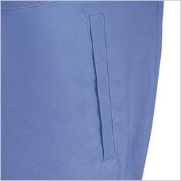 ジーベック 7561 [春夏用]サワークロスプリーツロン半袖ブルゾン(JIS T8118適合) ポケット付き