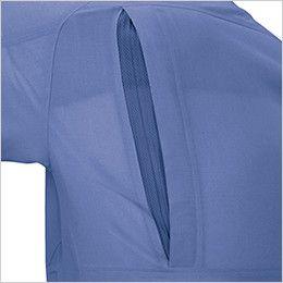 ジーベック 7562 [春夏用]サワークロスプリーツロン半袖シャツ(JIS T8118適合) メッシュプリーツロン採用