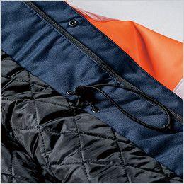 ジーベック 801 高視認性 安全防水防寒コート スピンドルアジャスト