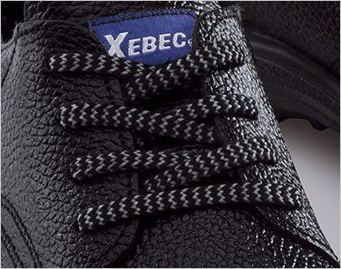 ジーベック 85021 安全短靴 樹脂先芯 ひも部分