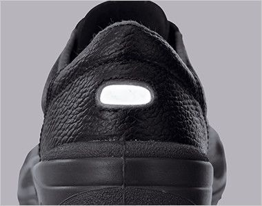 ジーベック 85021 安全短靴 樹脂先芯 反射材で夜間・暗所での安全性が向上