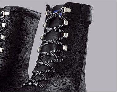 ジーベック 85023 安全長編上靴 樹脂先芯 ひも部分