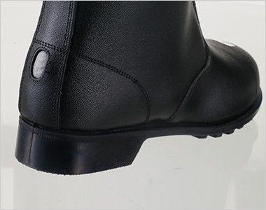 ジーベック 85027 安全長編上靴 スチール先芯 耐久性が高く、熱に強いラバー1層底で鉄工場や溶接等のハードな現場にも対応。