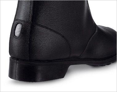 ジーベック 85028 安全半長靴 スチール先芯 耐久性が高く、熱に強いラバー1層底で鉄工場や溶接等のハードな現場にも対応。