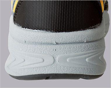 ジーベック 85109 静電防水安全靴 スチール先芯 接地面から5cmの高さまでが防水できる防水仕様