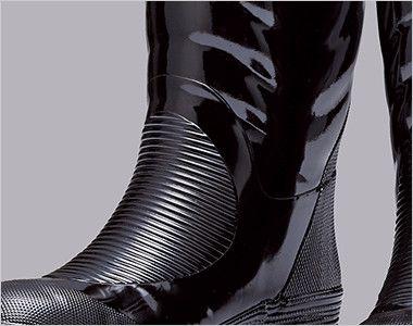 ジーベック 85702 安全長靴 スチール先芯 ラバー