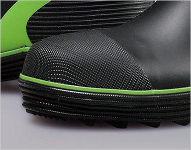 ジーベック 85711 ショート丈セフティ長靴 スチール先芯 鋼製先芯