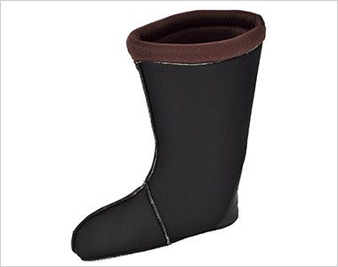 ジーベック 85715 EVA軽量防寒ショート丈長靴 厚さ13mmのウレタンインナーソックスは保温力が高く、取り外しができるので乾きが早く手入れも簡単です。