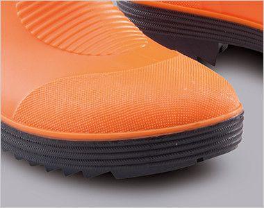 ジーベック 85763 ショート丈安全長靴 鋼製先芯
