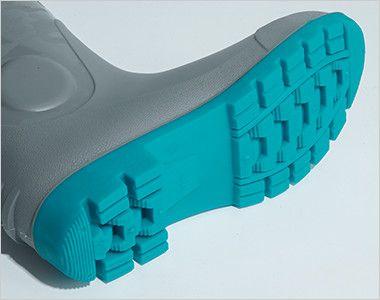 ジーベック 85764 耐油セフティ長靴 スチール先芯 靴底、甲被共に油での劣化を防ぐ耐油配合で汎用性が高い長靴です