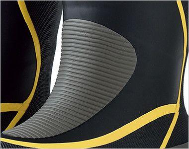 ジーベック 85780 防寒長靴[先芯無し] 甲被:ラバー