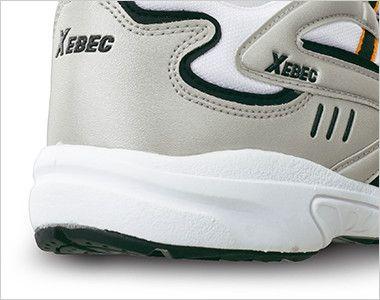 ジーベック 85803 静電スポーツシューズ[先芯無し] クッション性の高いソフトな履き心地の軽量ソールを採用。