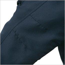 ジーベック 881 防寒コート 襟ボア ポリ100% 肘タック
