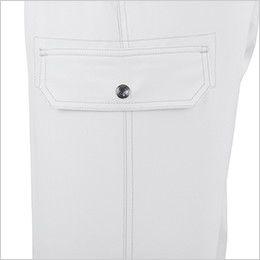 ジーベック 8863 ライダースワーク ツータック ラットズボン インナーポケット仕様のラットポケット