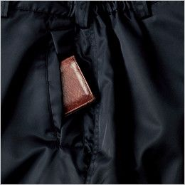 ジーベック 890 ライダーススタイル 防寒パンツ 防風 逆玉ポケット