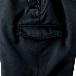 ジーベック 890 ライダーススタイル 防寒パンツ 防風 ラットポケット
