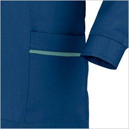 ジーベック 9202 [春夏用]ジャケット 長袖スモック(女性用) ポケット