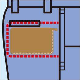 [在庫限り/返品交換不可]ジーベック 9600 [春夏用]スラレーズスラックス(ツータック) 盗難や遺失などの防止に役立つ、安全なファスナー付き隠しポケット「スラレーズ」
