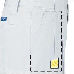 ジーベック 9650  [春夏用]クールボディ ツータック スラックス コインポケット付き