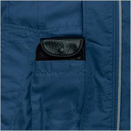 KU90470 [春夏用]空調服 帯電防止長袖ブルゾン バッテリー専用ポケット