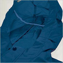 KU90810 [春夏用]空調服 長袖ブルゾン(フード付き) ポリ100% スベリ止め付き