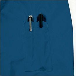 KU90810 [春夏用]空調服 長袖ブルゾン(フード付き) ポリ100% ペン差し