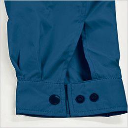 KU90810 [春夏用]空調服 長袖ブルゾン(フード付き) ポリ100% ダブルボタン