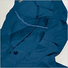 KU90810SET 空調服セット 長袖ブルゾン(フード付き) ポリ100% スベリ止め付き